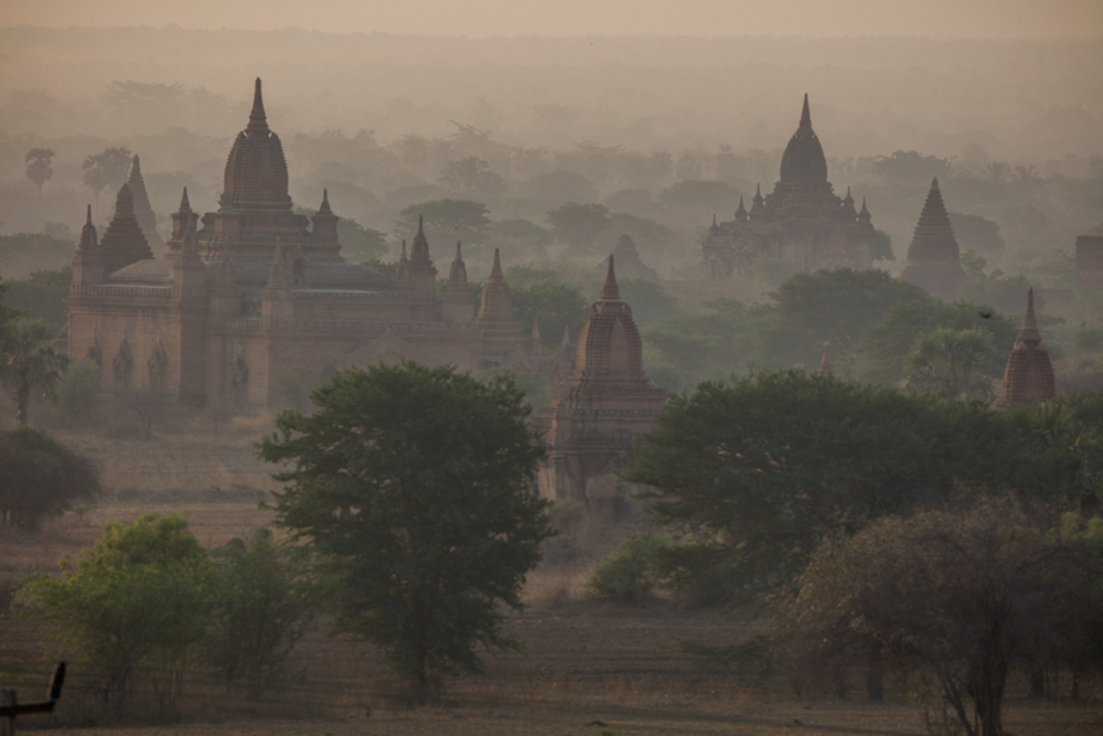Before sunrise in Bagan