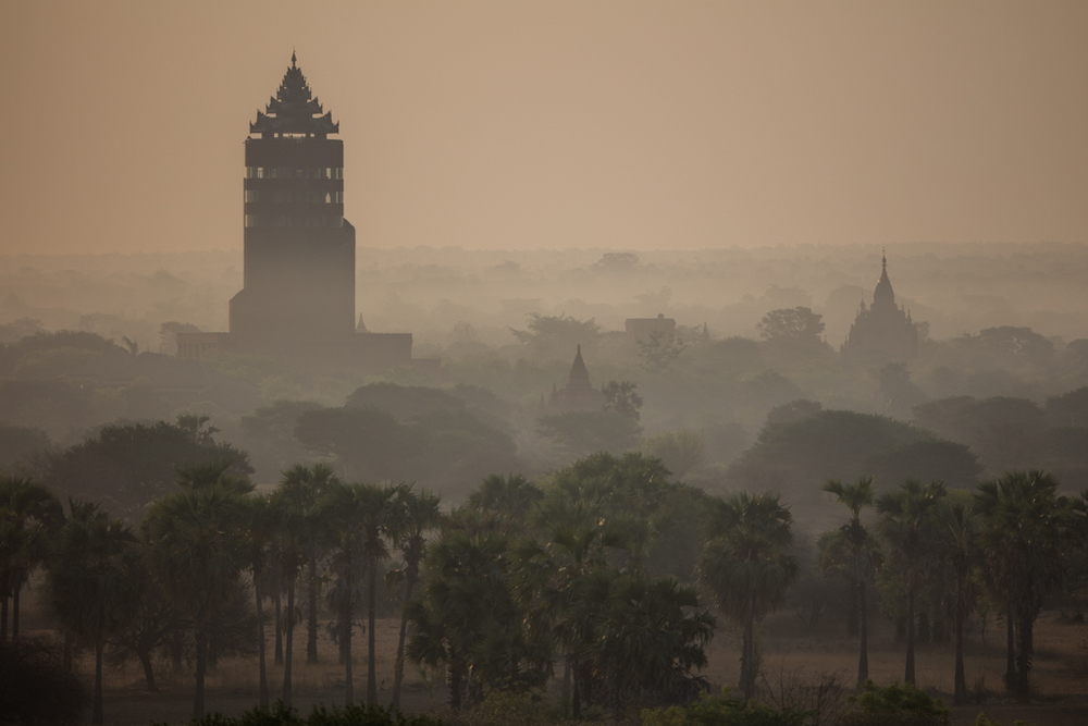 The watch tower of Bagan