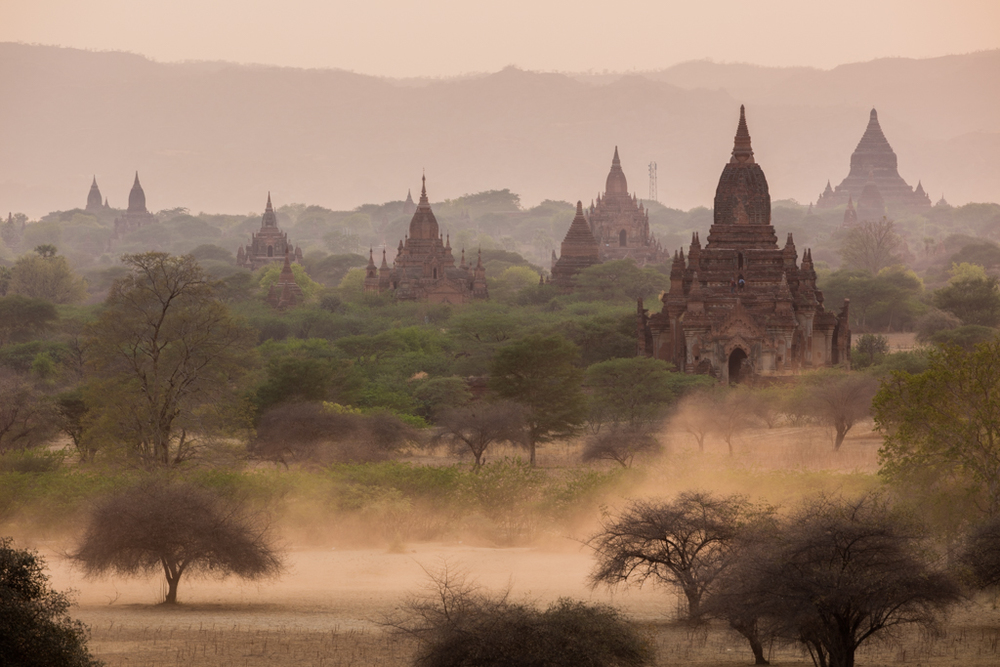Dust in Bagan