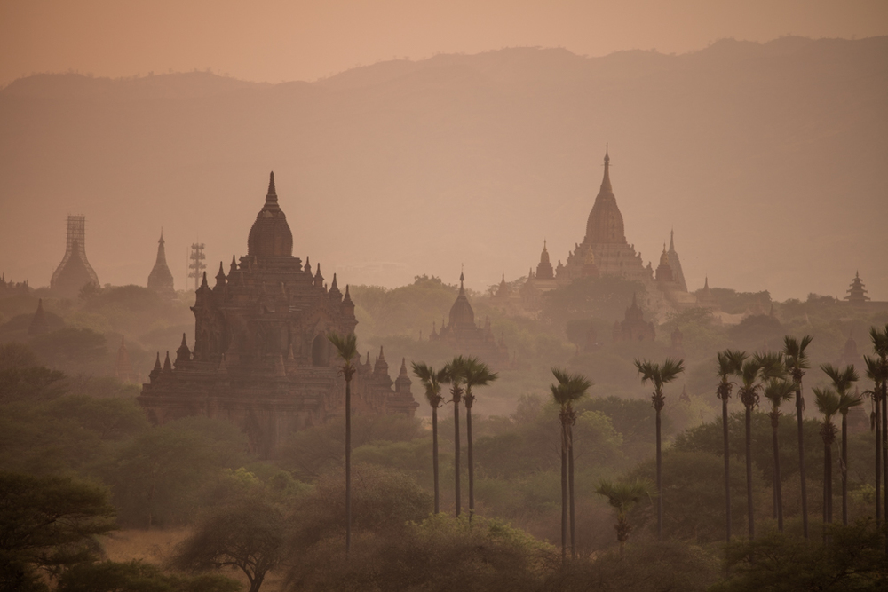 Evening atmosphere in Bagan