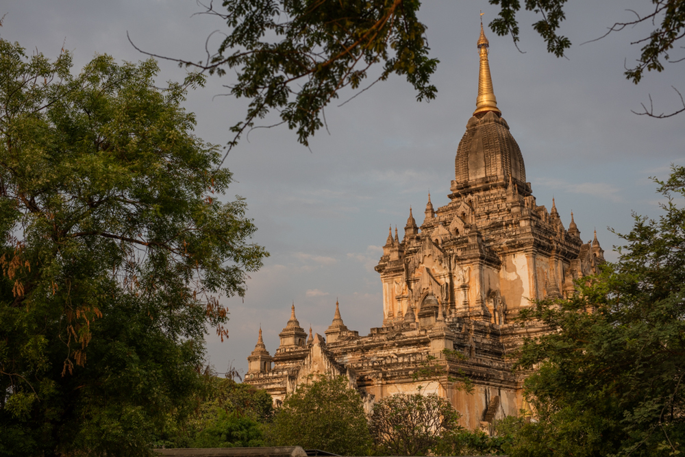 Htilominlo temple in Bagan