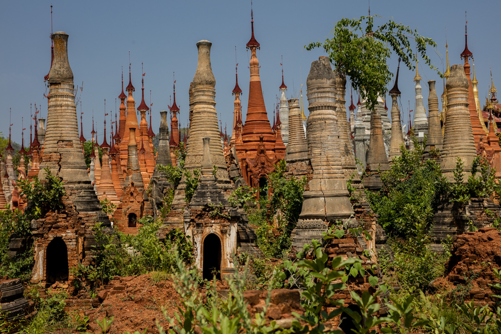 Pagodas of Indein