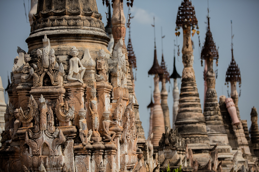 Pagodas in Kakku