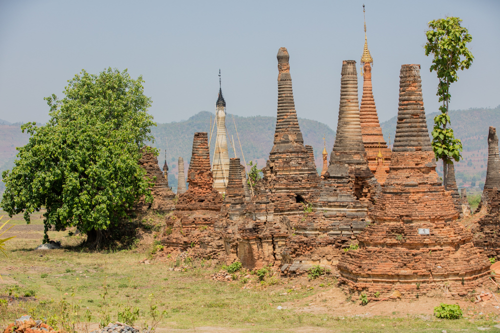 Pagodas in Sankar