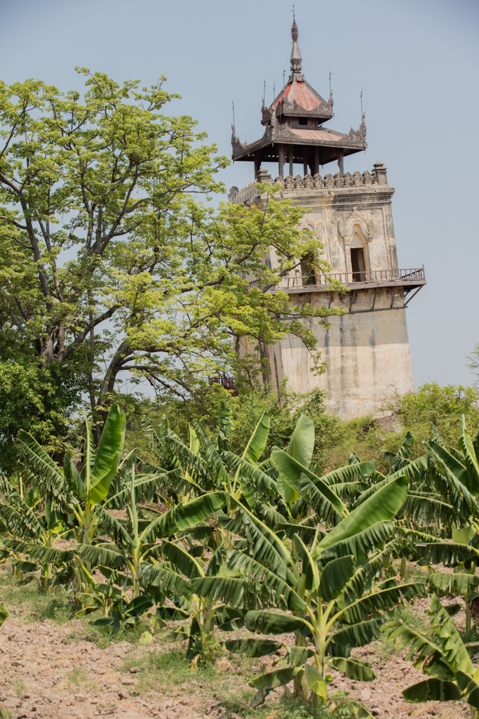 Watch tower in Inwa