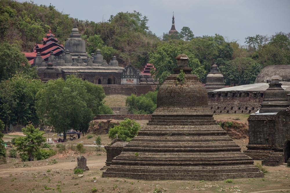 Temples in Mrauk U