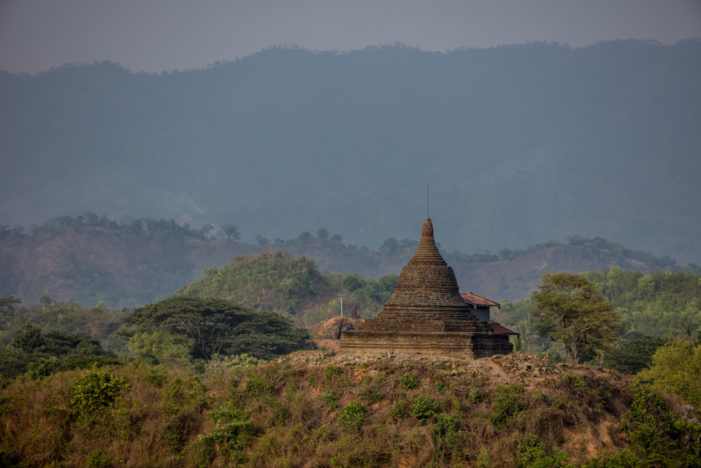 Temple in Mrauk U