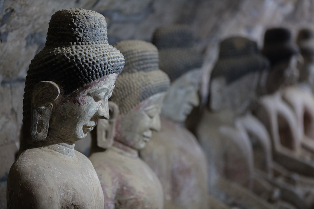 Impressive Buddhas of Andaw Pagoda