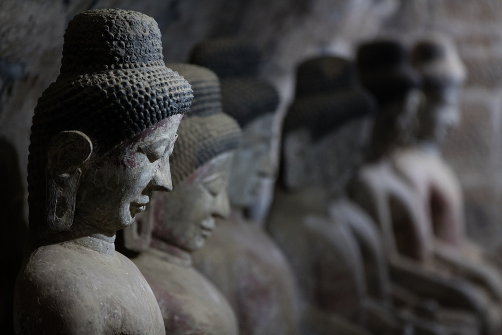 Buddhas in Andaw Pagoda