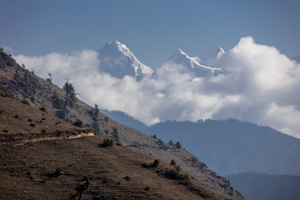 Everest view point Phurteng
