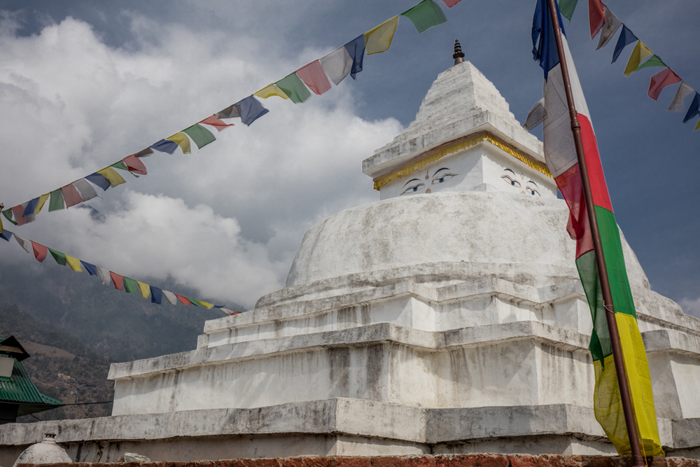 Gompa on the main route