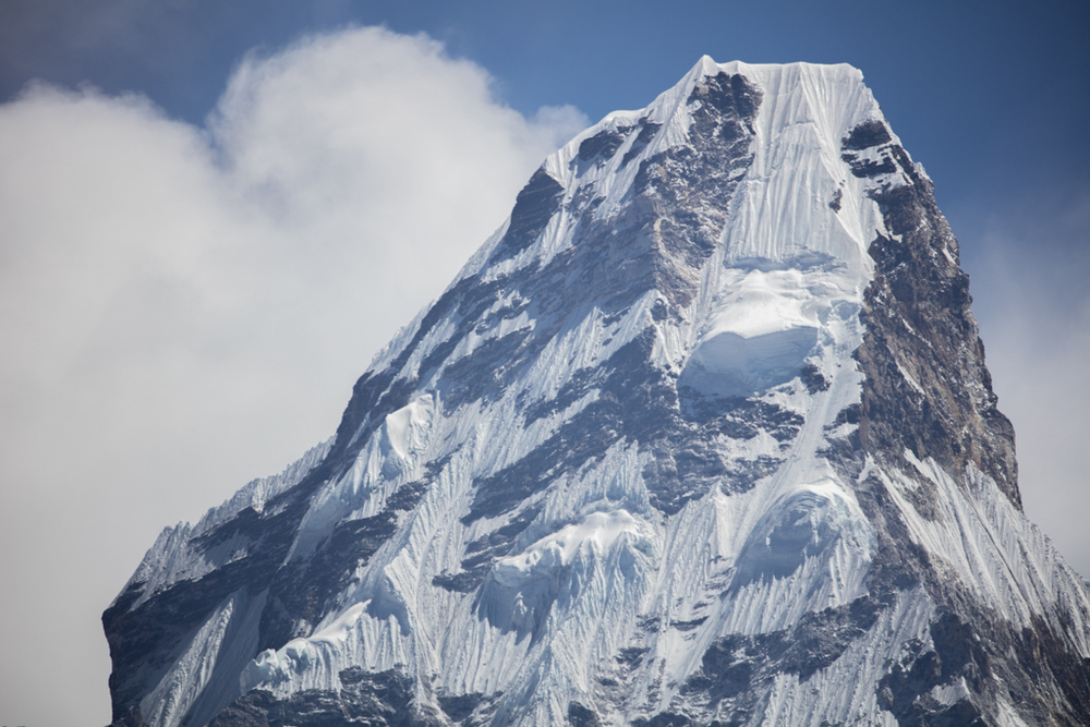 The summit of Ama Dablam (6812m)