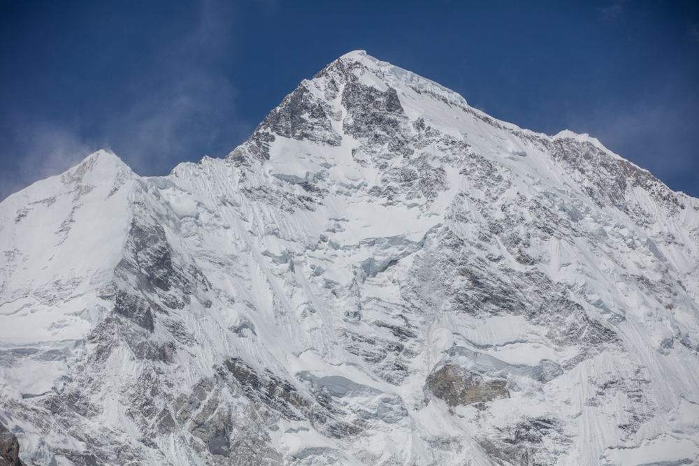 The south face of Cho Oyu (8201m)
