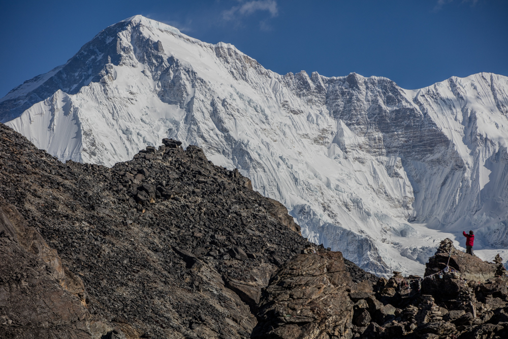 Cho Oyu (8205m) from the south