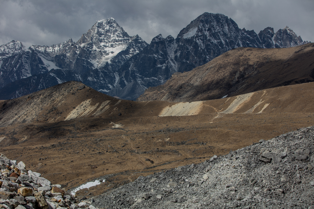 On the route to Cho La pass