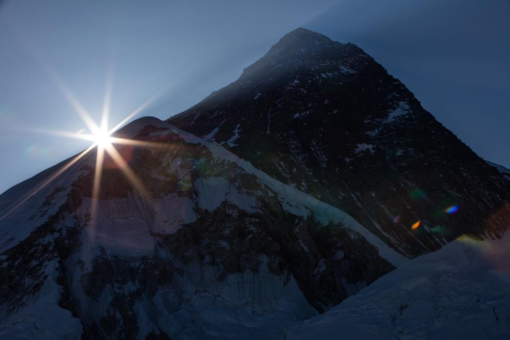 Sunstar at Mt. Everest