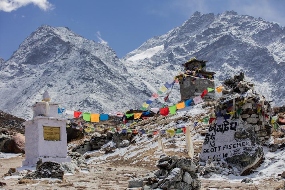 Everest memorial site