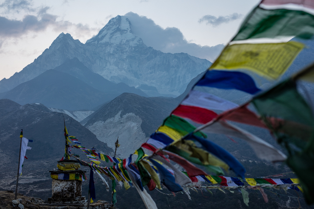 Viewpoint above Pangboche