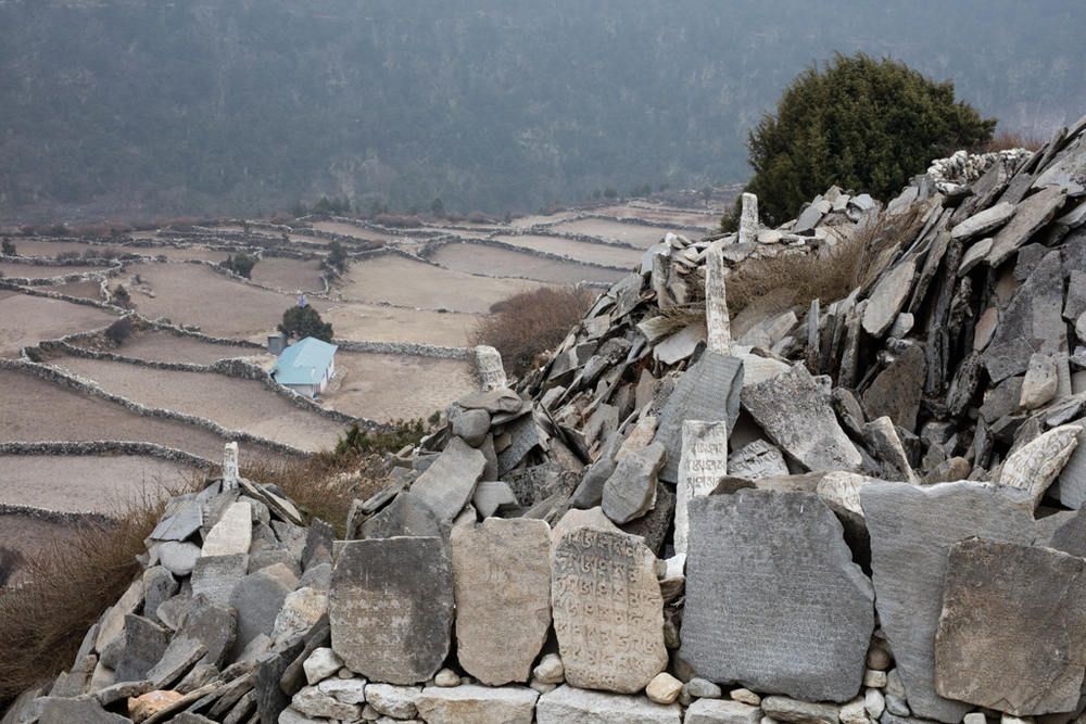 Viewpoint in Dingboche