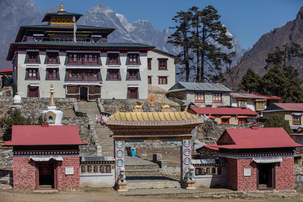 The monastery of Tengboche