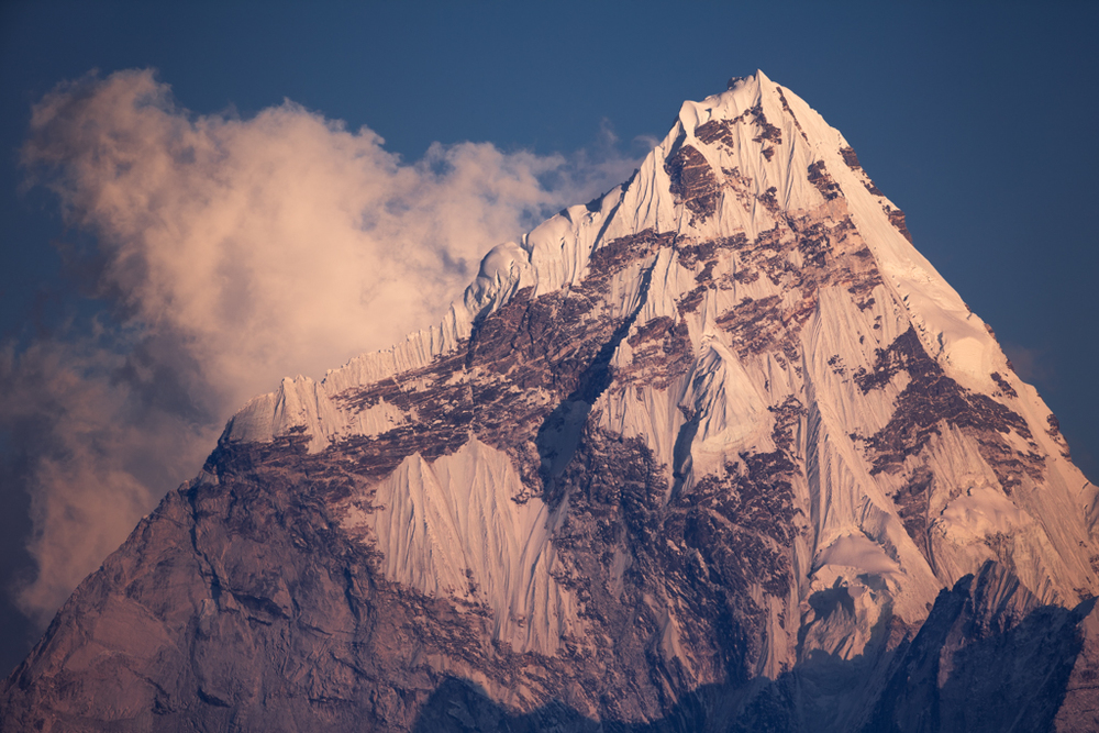 Sunset at Ama Dablam