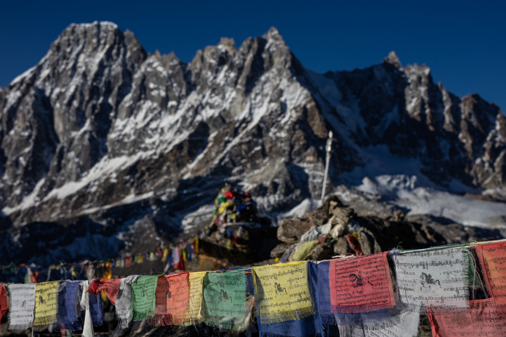 Mountains from Gokyo Re