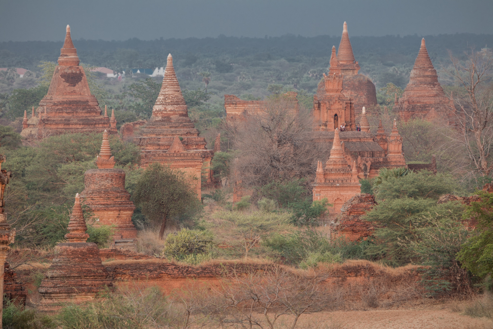 Temples in Bagan