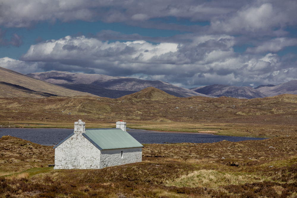 Remote house in Scotland