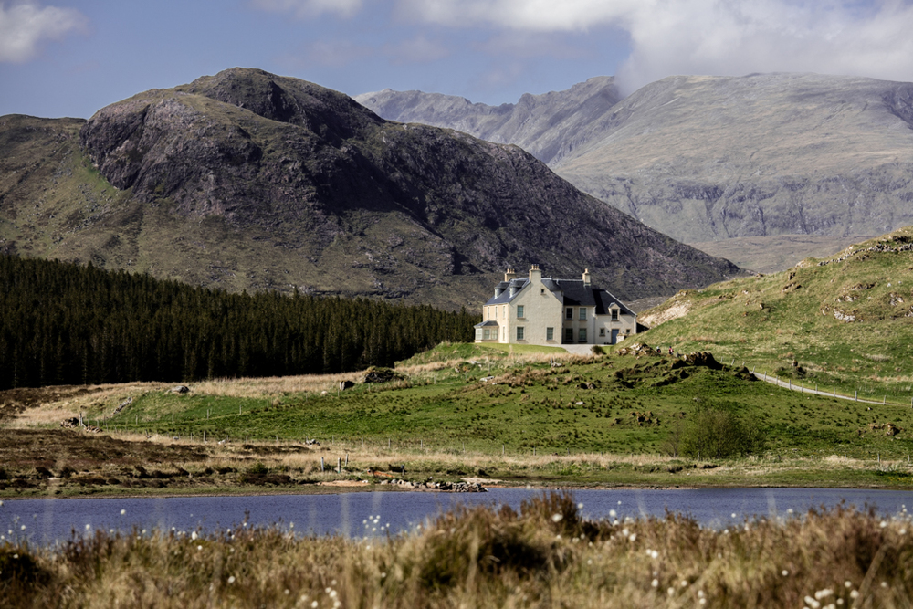 House in the Highlands of Scotland