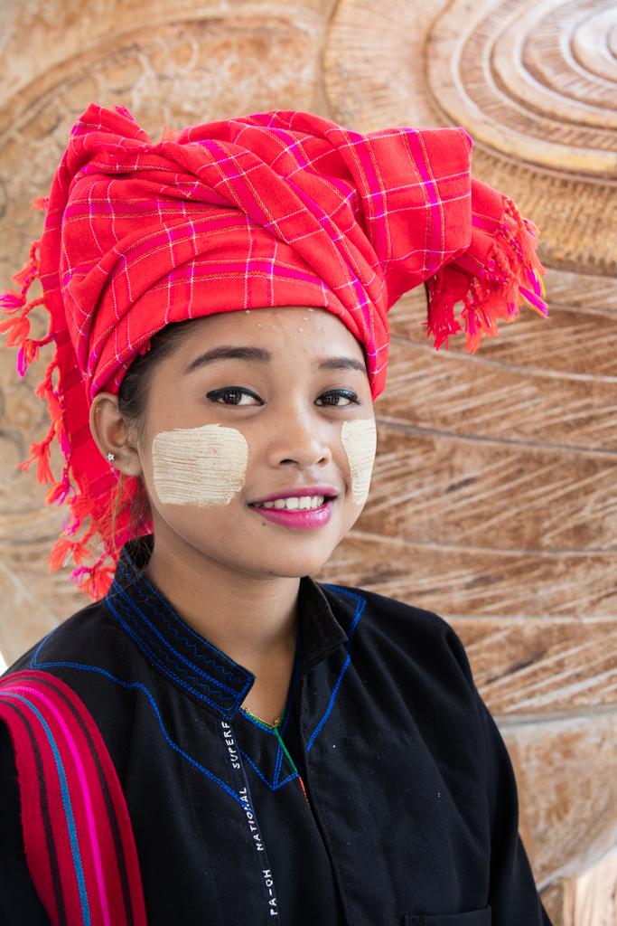 Woman in Myanmar