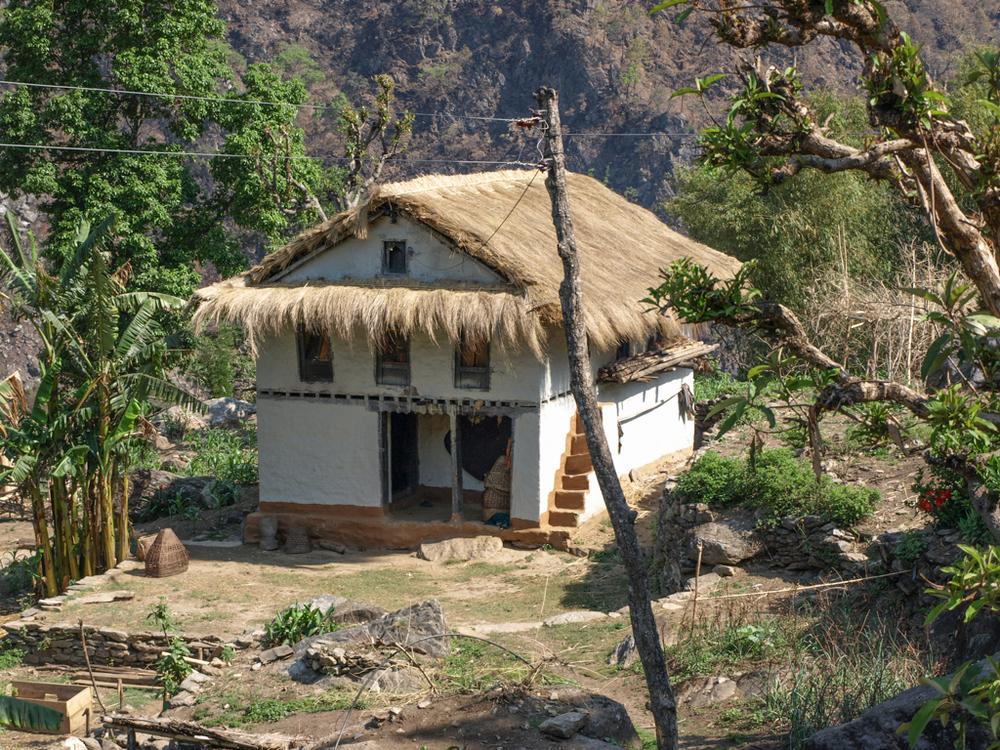 Traditional farmer's house