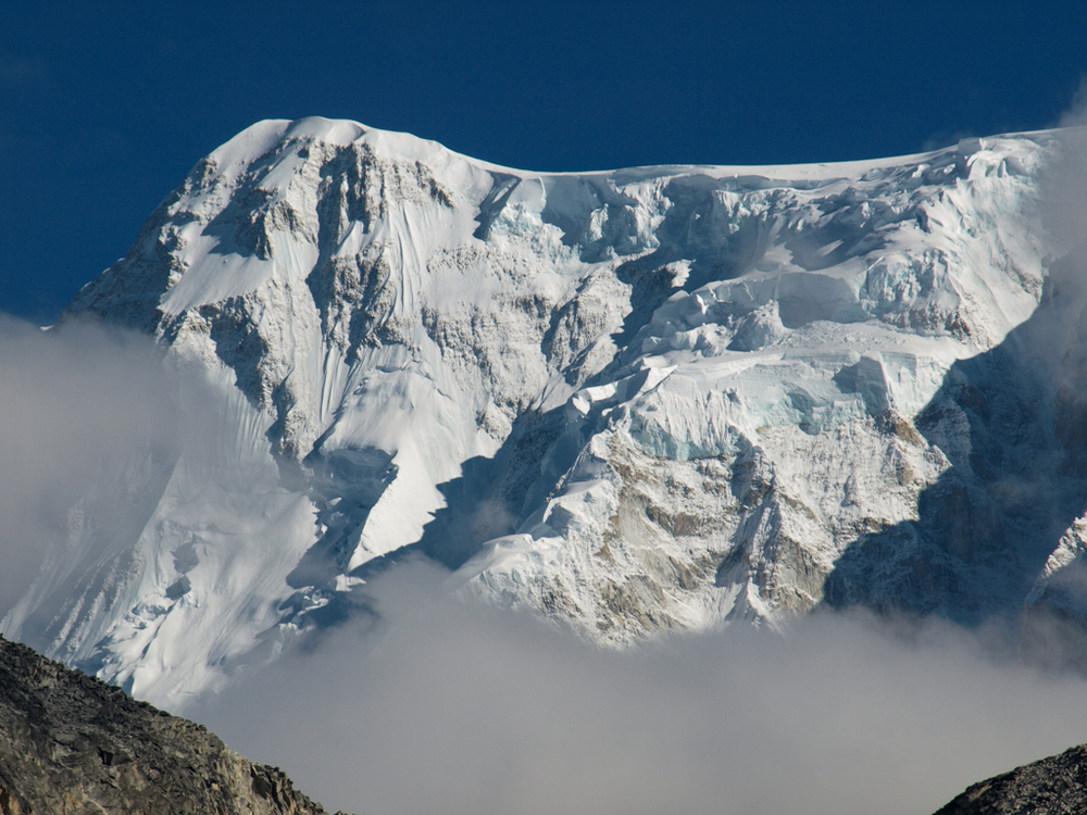 The south face of Cho Oyu (8205m)