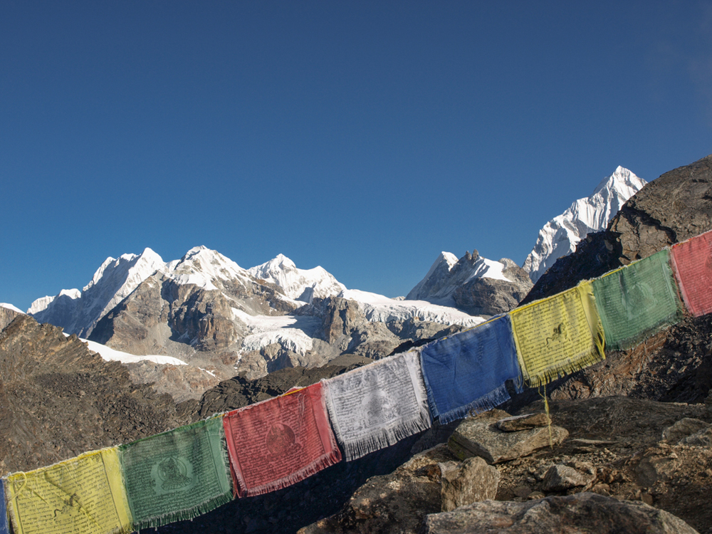 On top of Gokyo Re (5450m)