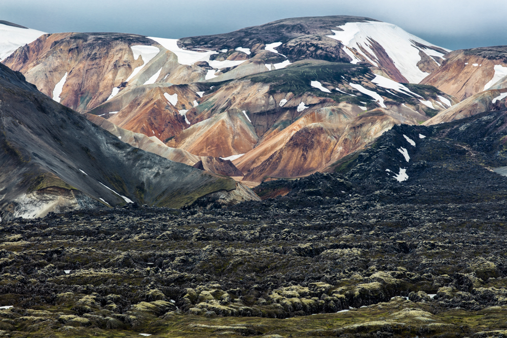 Mountains left to Brennisteinsalda