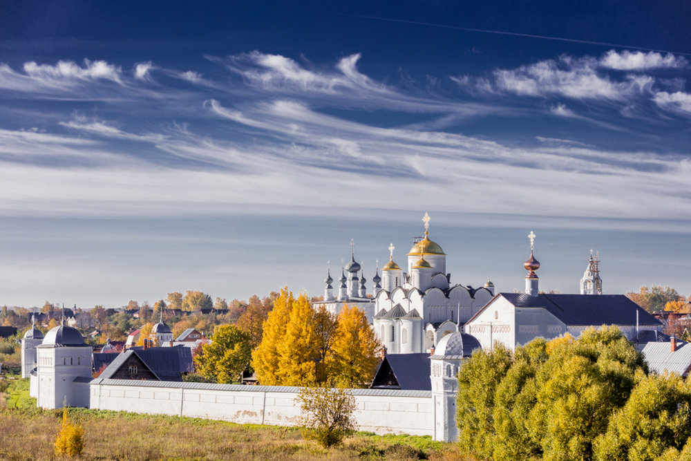The Pokrovsky Monastery and Church of St. Peter and Paul