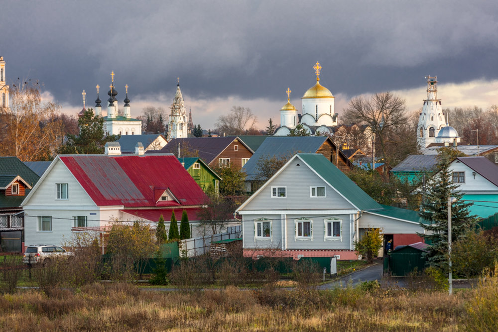 The Cathedral of Ascension, Pokrovsky Monastery and Church of St. Peter and Paul