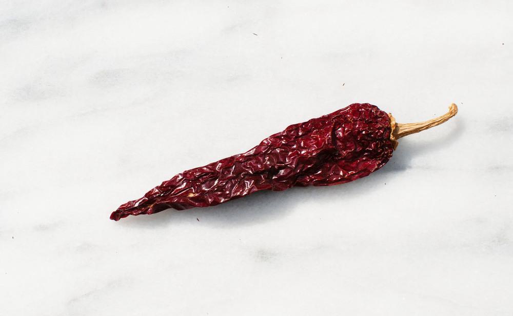 red chile pod