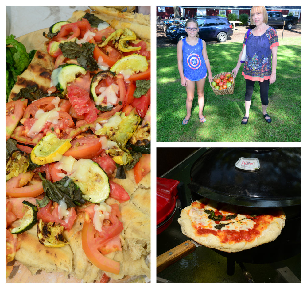 At Passion for Spices™ summer camp last year, the young chefs made a tasty pizza topped with farm fresh grilled veggies.