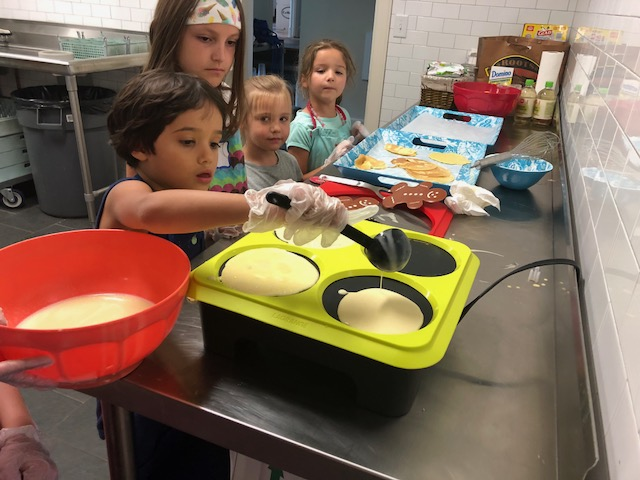 Cooking camp for Kids