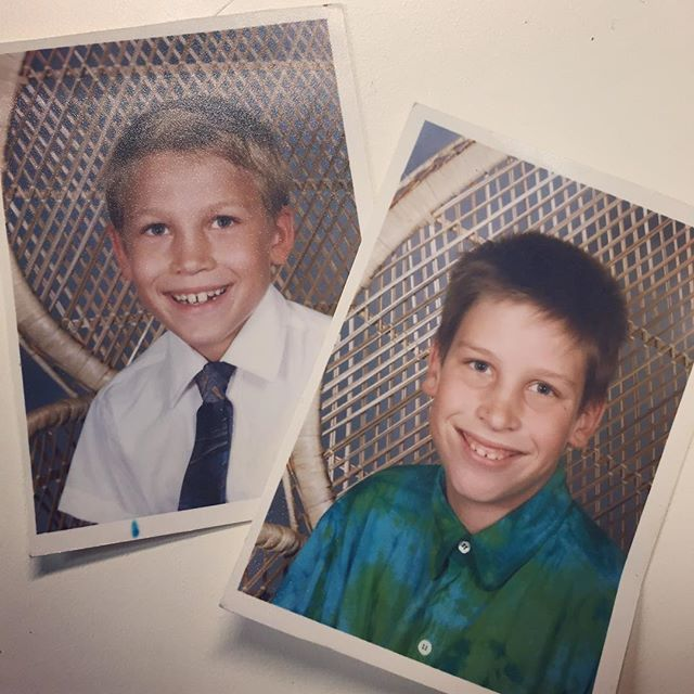 Found these handsome mugs lurking in the bottom of my purse -- reclaimed from Grandma's house. #cousinsarethebest #throwbackthursday #circa1992 #familyhistory #lovetheseboys