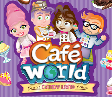 Candy Land Cafe World