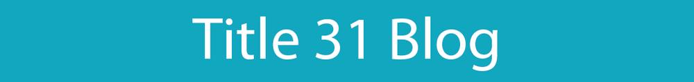 Title 31 Blog