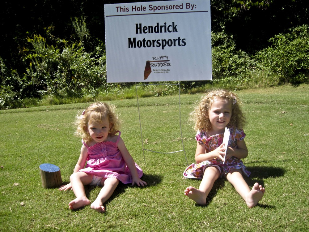 Thank you Hendrick Motorsports for sponsoring a hole!