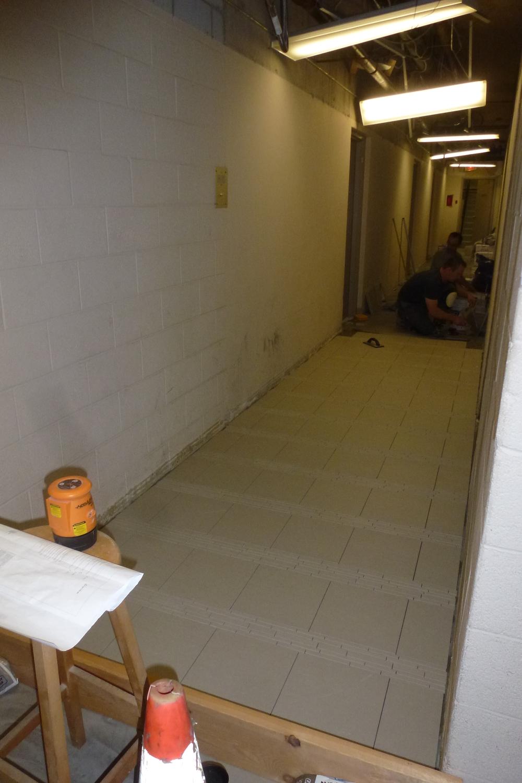 Corridor Work in Progress