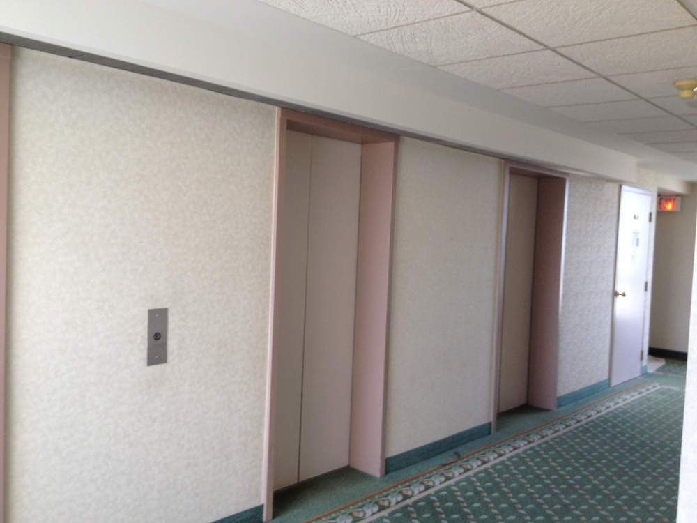 Existing Elevator Lobby Side 1