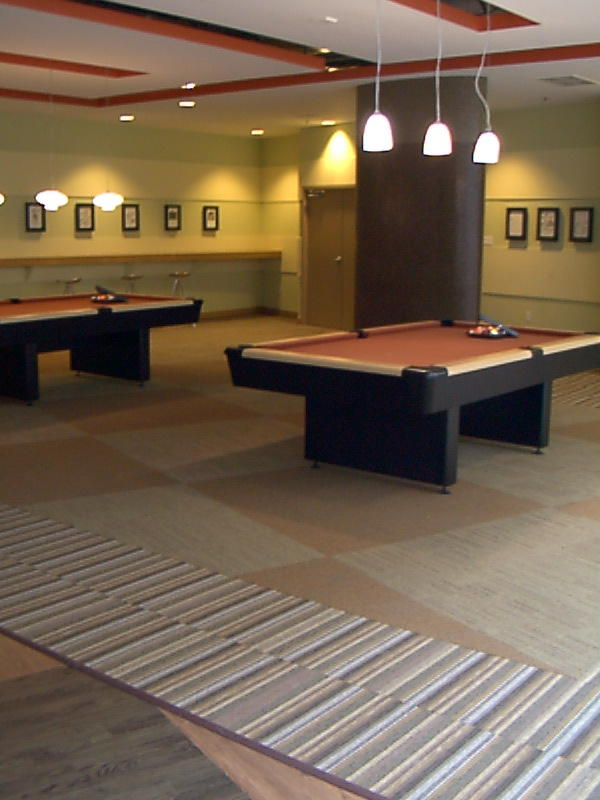 BILLIARD ROOM AFTER