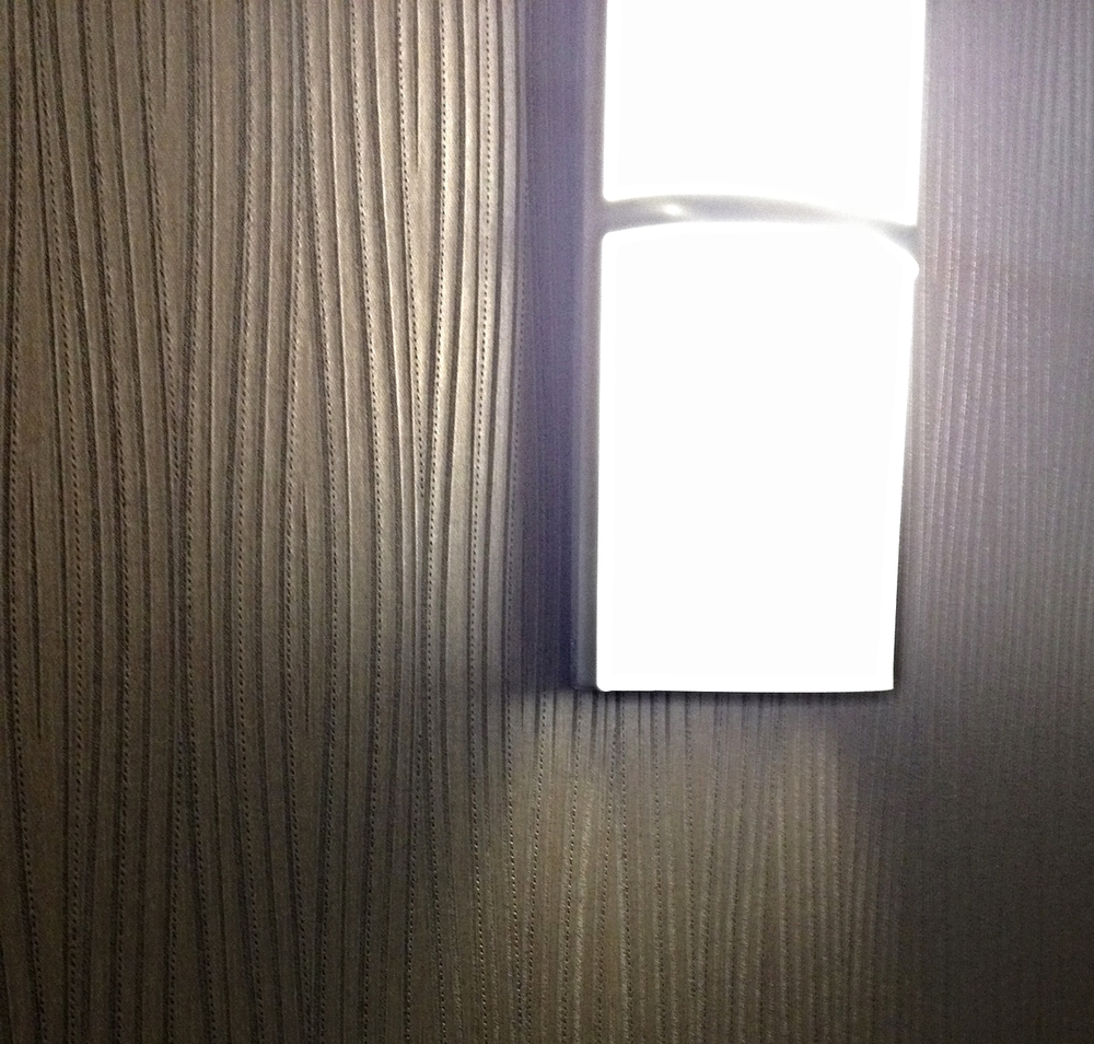 Detail of Light and Wall Vinyl