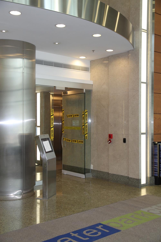 In Progress Interior Doors and Enterphone System