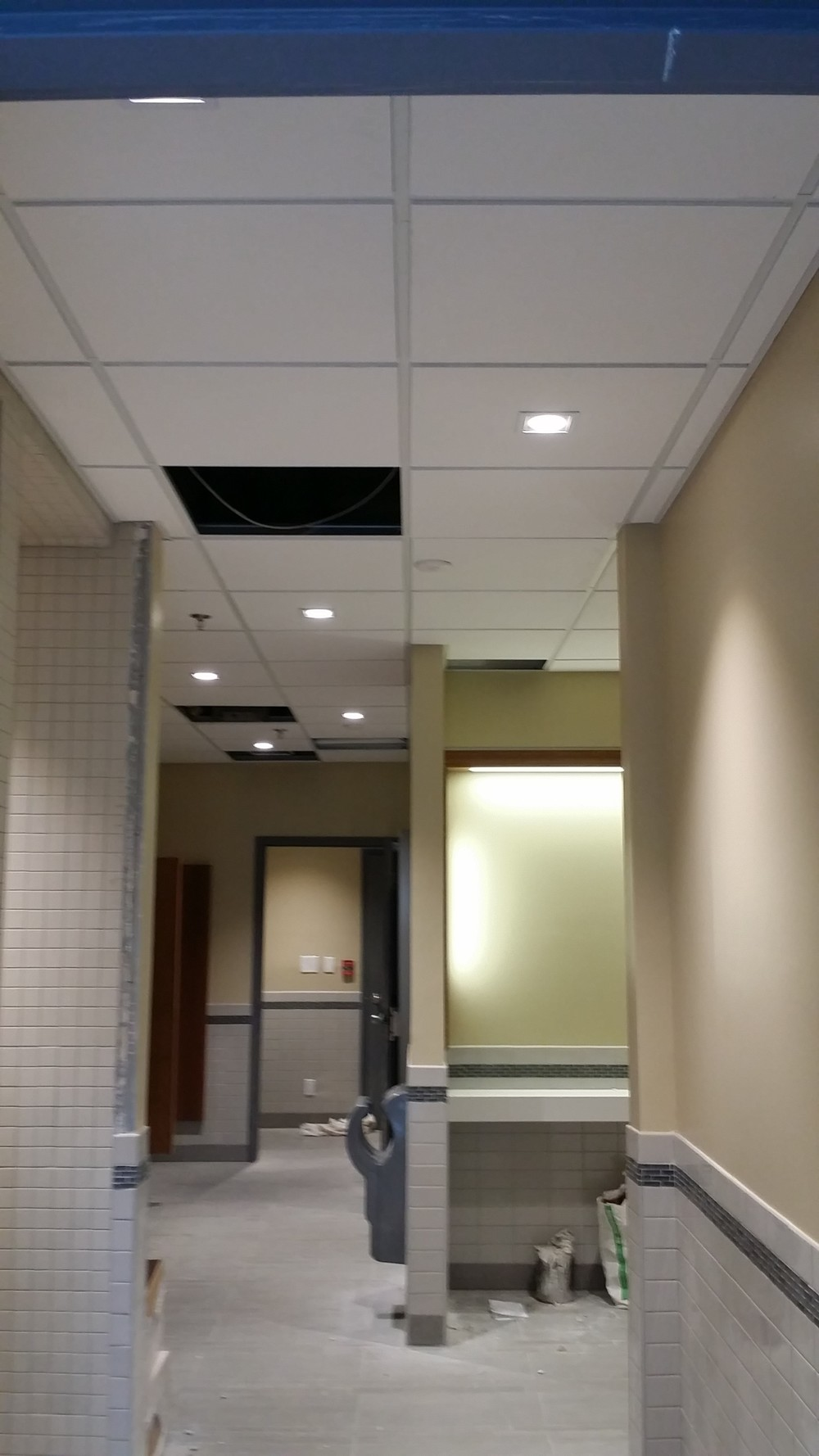 Complete - Ceiling & Electrical