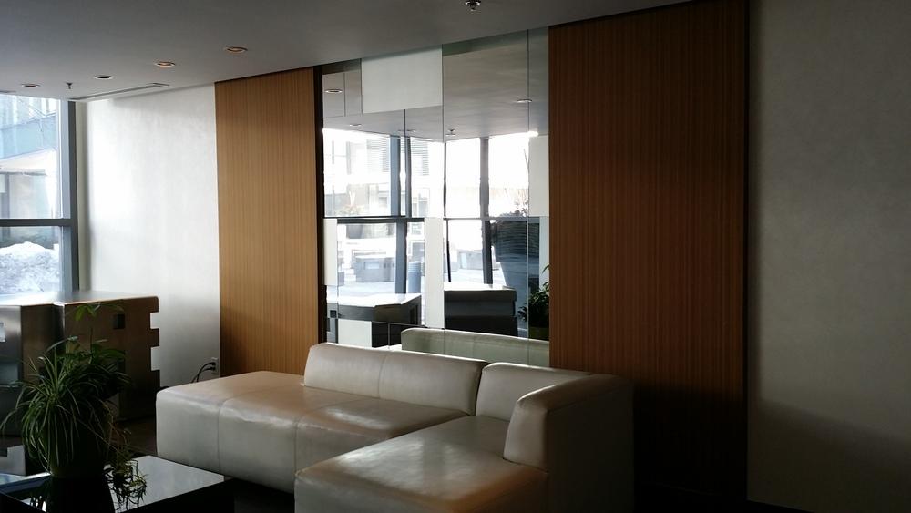 Existing South Lobby Sofa Wall